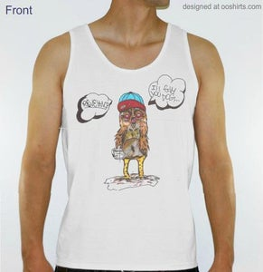 Image of Revelance Hood Bird Mens Tank