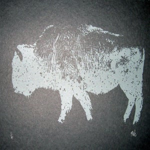 Image of Small Art Print/ Buffalo