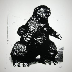 Image of Small Art Print/ Zilla