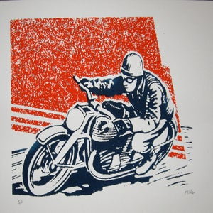 Image of Small Art Print/ Moto1
