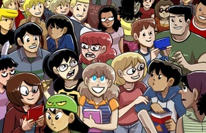 """Image of Dumbing of Age: """"Cast 2013"""" poster"""