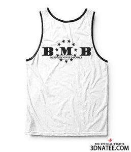 Image of BMB™ BLACK ON WHITE TANK