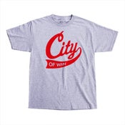 Image of Varsity Script Tee Heather Grey