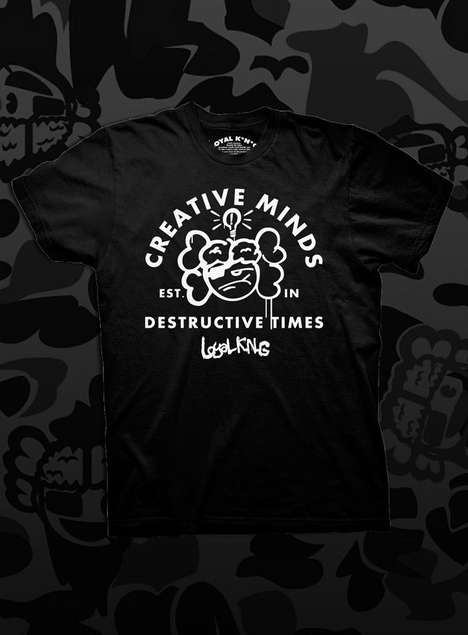 Image of Creative Minds (Black/Red/Gold)