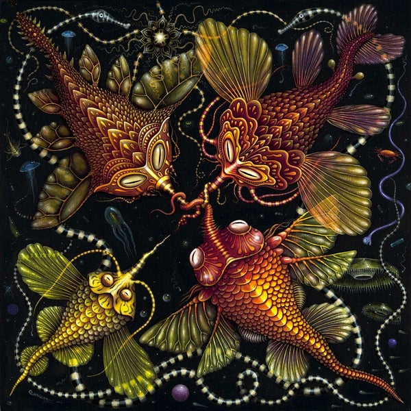"Image of SYMBIONTS ~ 20 x 20"" Signed Open Edition"