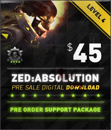 Image of ZED: Absolution 45$ Preorder