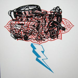 Image of Small Art Print/ Beautiful Engine II