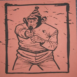 Image of Small Art Print/ Ape Shall Not Kill Ape