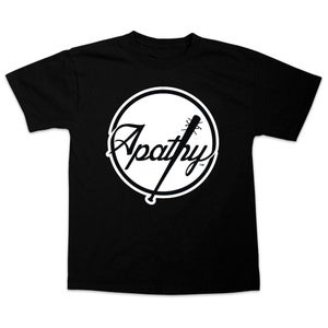 Image of Apathy Spiked Bat Logo T-Shirt - Black Tee