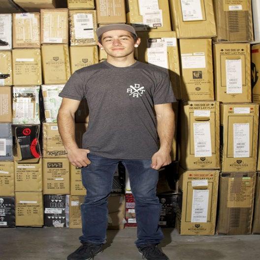 Image of Tee Shirt VERSUS black