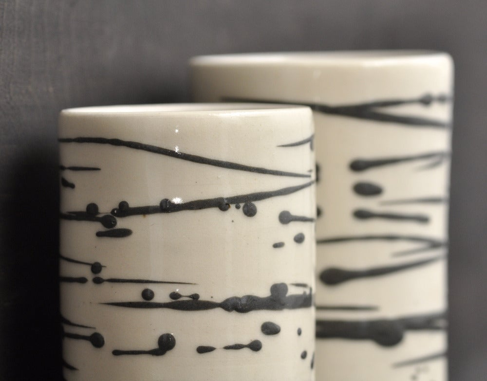 Image of 80's zebra cups