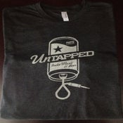 Image of Men's Untapped Fest Tee - Beer Can - Vintage Black