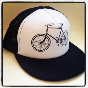 Image of Vintage Bike Trucker Hat