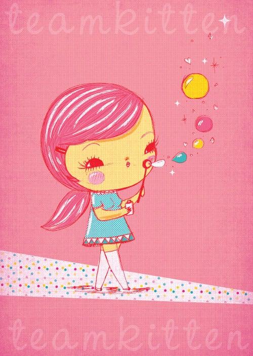 Image of Magic Bubbles Art Print