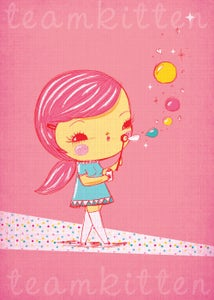 Image of Magic Bubbles Art Print