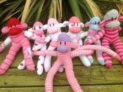 Image of Medium Sock Monkeys