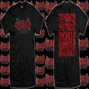 Image of Red Logo 'Destroy' T-Shirt