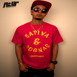 Image of SATIVA & COGNAC TEE