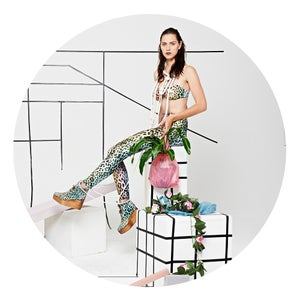 Image of RAINBOW LEOPARD leggings