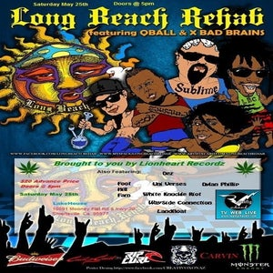 Image of Long Beach Rehab Tickets + Memorial Day Weekend CampSite