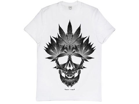 Image of 'Marijuana Skull' shirt