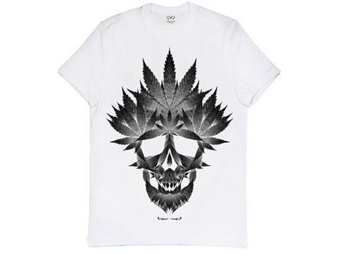 Image of 'Marijuana Skull' shirt
