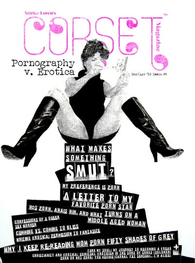 Image of Corset Magazine, Issue 6, Pornography v. Erotica (Digital)