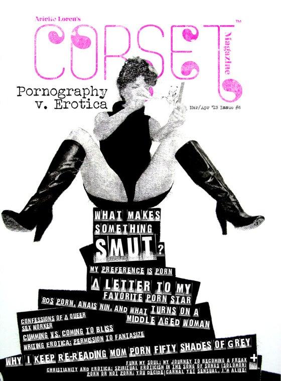 Image of Corset Magazine, Issue 6, Pornography v. Erotica (Digital)
