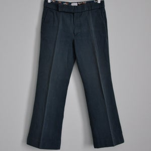 Image of Marni petrol cropped cigarette pants