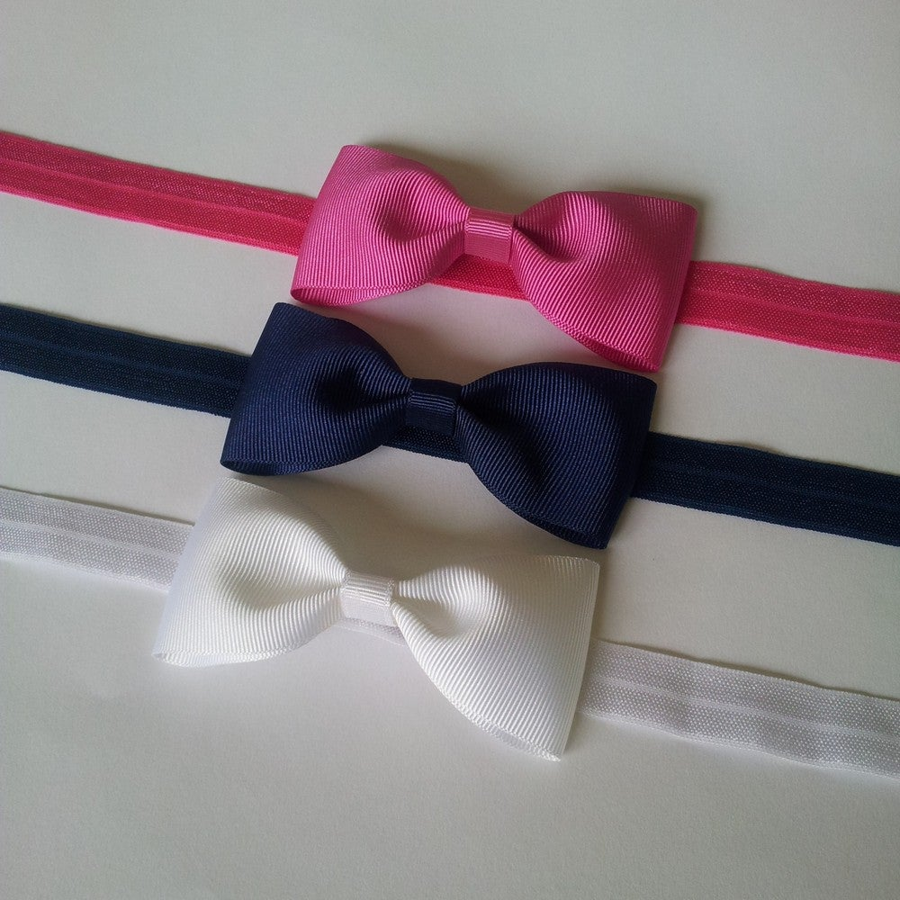 Image of Simple Bow Headband