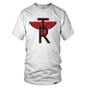 Image of CLASSIC TR Wings ON AWAY WHITE T-SHIRT