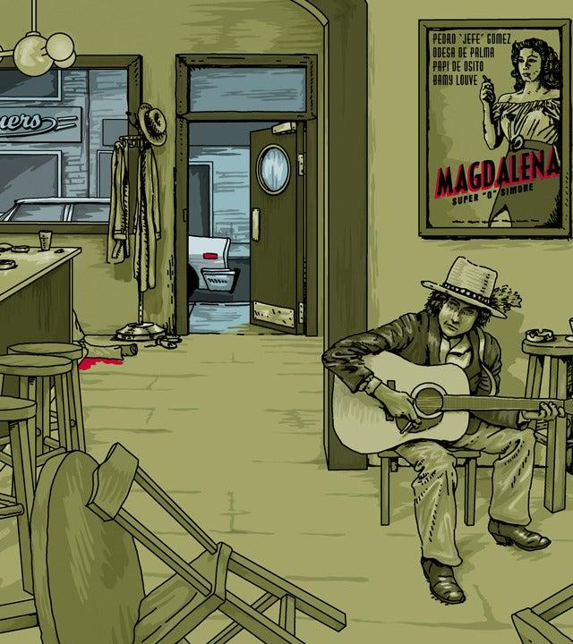 Image of Bob Dylan KY 2013