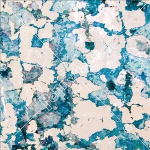 Image of Peeling Paint - Sapphire