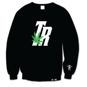 Image of TR PLANT on Black Sweatshirt