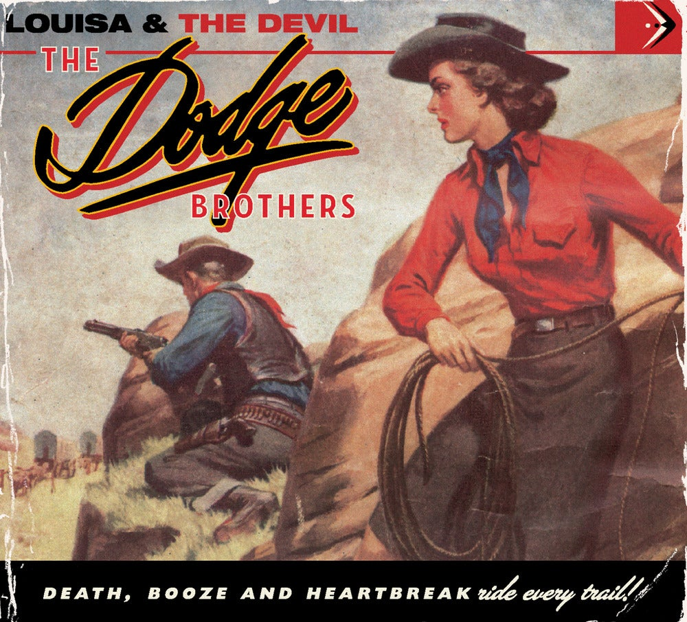 "Image of The Dodge Brothers ""Louisa & The Devil"" CD"