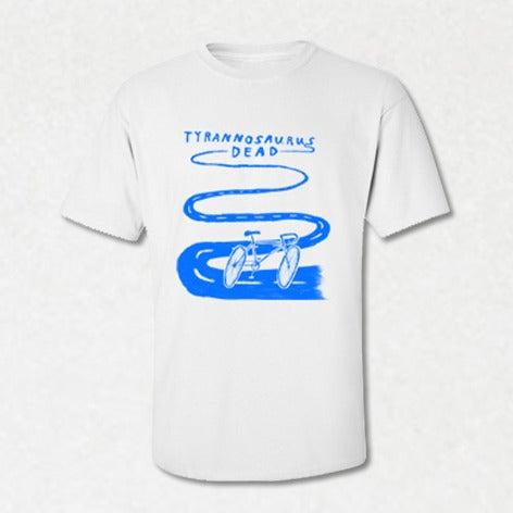 Image of SI03   Tyrannosaurus Dead - Bike Band T-Shirt by Kieran Gabriel