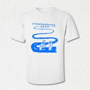 Image of SI03 | Tyrannosaurus Dead - Bike Band T-Shirt by Kieran Gabriel