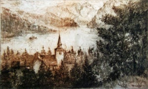 Image of Church at Ulvik, Hardanger, Norway