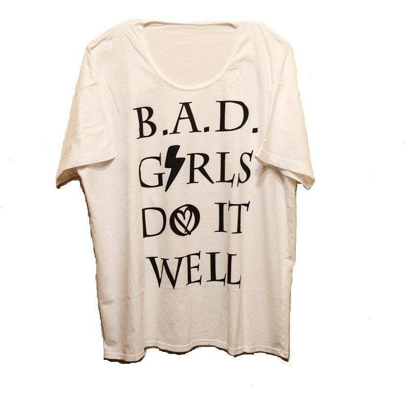 Image of B.A.D. Girls Do It Well Oversized Tee
