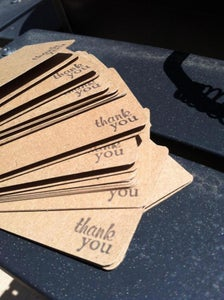 Image of Thank You Cards Bakers Dozen (13)
