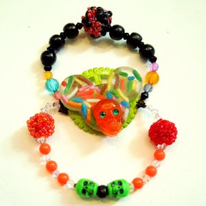 "Image of Sprinkles ""Mouse of Death"" Neon Bracelet"