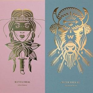 Image of Foil Prints (set)