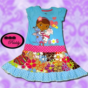 Image of **SOLD OUT** Doc McStuffins Twirl Dress - Size 3/4T