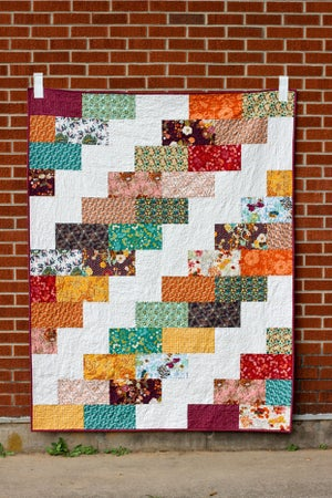 Image of Side Braid Quilt PAPER Pattern