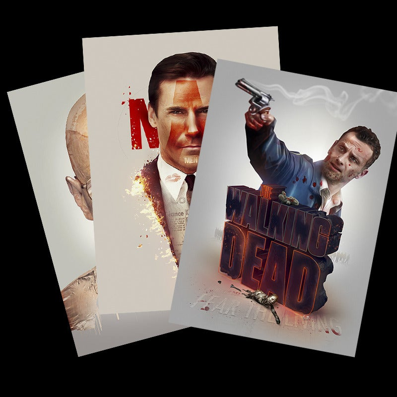 Image of Tv shows (Series 1) Poster set