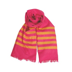 Image of Pink/Clementine Scarf