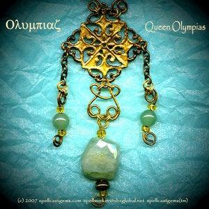 Spell Cast Gems Tm Queen Olympias Necklace Alexander