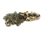 Image of Miniature Dinosaur Skull Necklace - Options Available