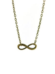 Image of Infinity Charm Necklace - Options Available