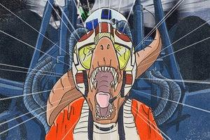Image of Rebellion Rex - Star Wars Dinosaurs